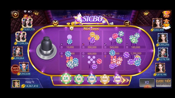 App game sicbo online