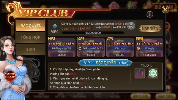 Hệ thống game vip TWIN