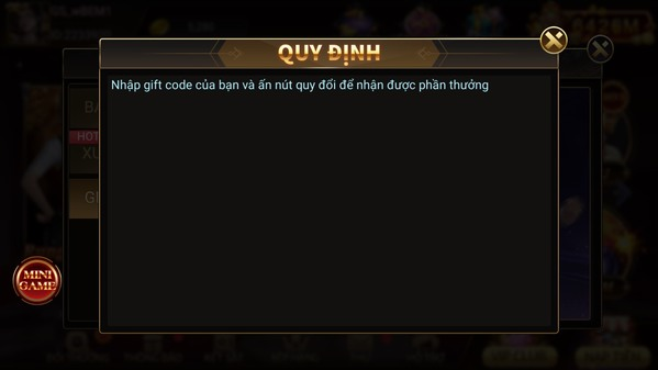 Quy tắc nhập code game TWIN