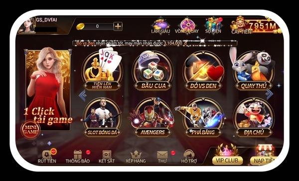 Cổng game bài đổi thẻ