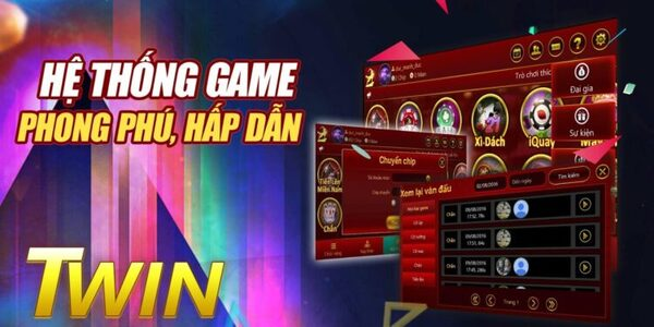 Hệ thống game TWIN online