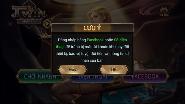 Tham gia web game bài online